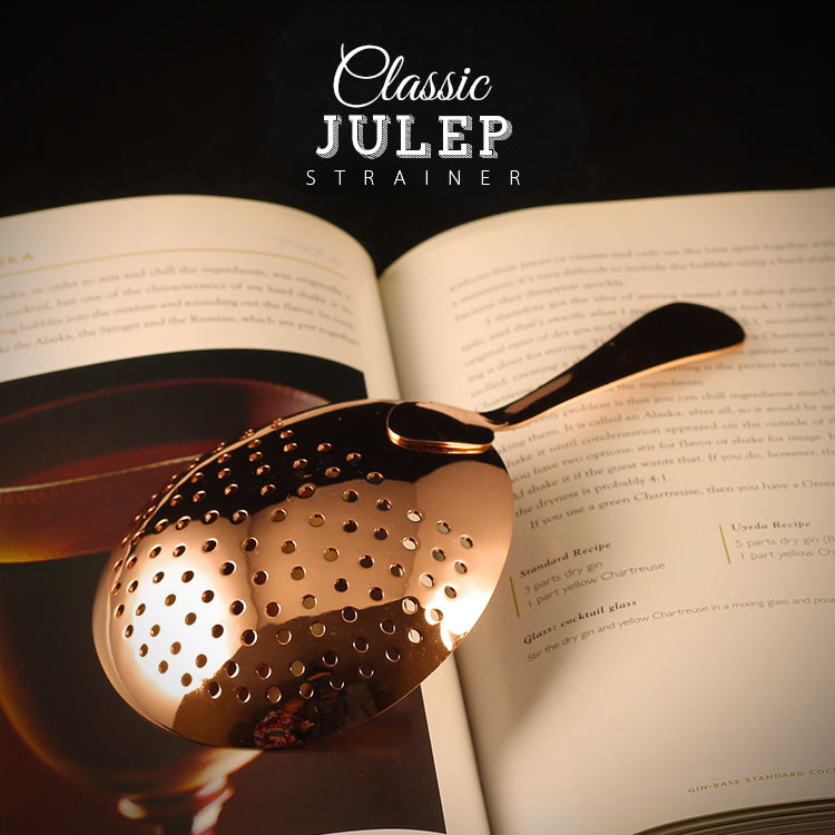 Classic Julep Strainers - Golden Age Bartending Bar Tools
