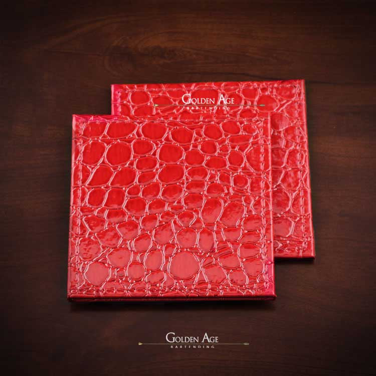 ON SALE! Coasters leather imitation
