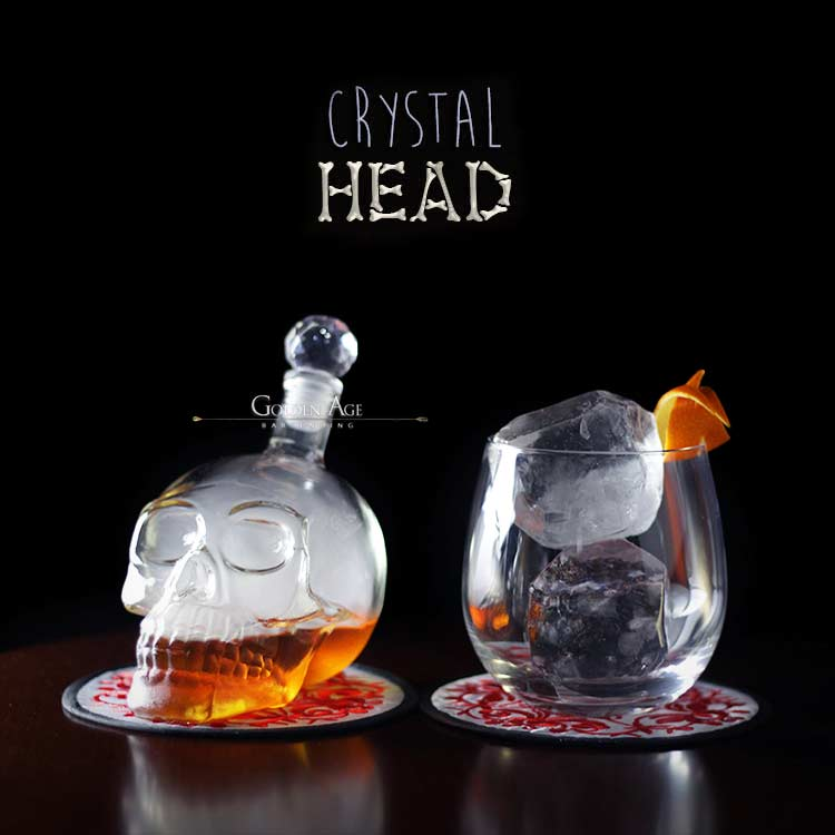 Crystal Skull - 350ml - Golden Age Bartending Bar Tools