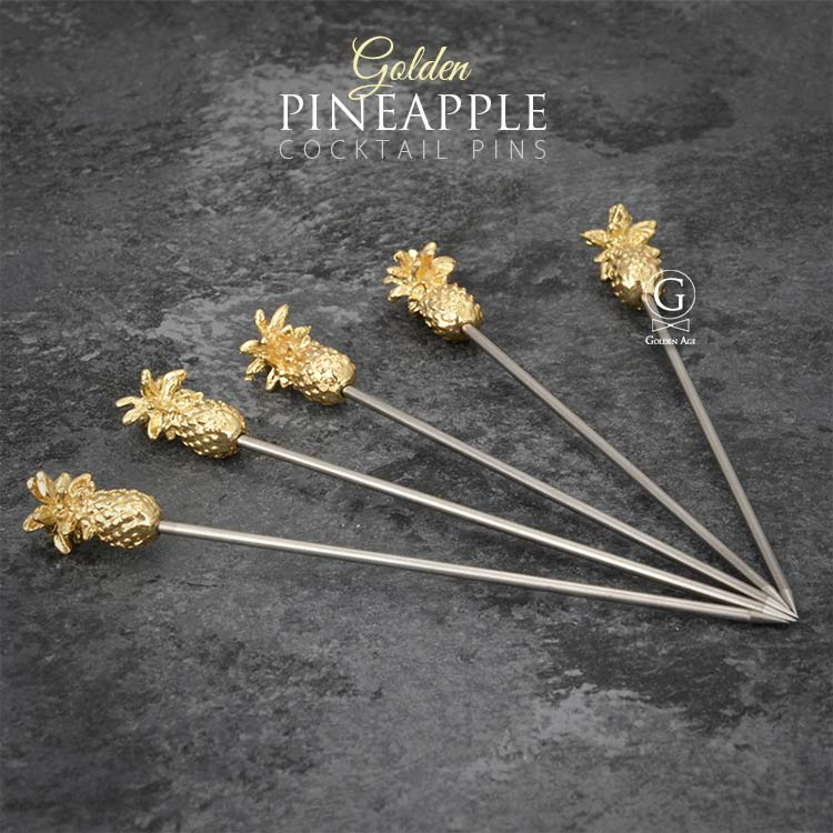 Cocktail Picks - Pineapple
