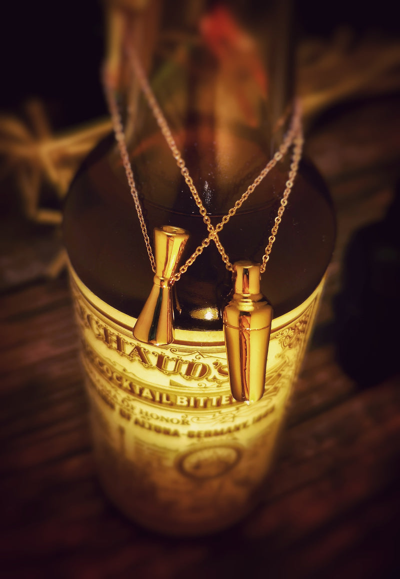 Necklace - Mr Slim Rose Gold - Free Shipping - Golden Age Bartending Bar Tools