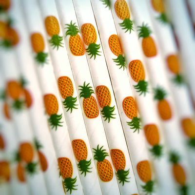 Deco straws x 25 - Fruits - Golden Age Bartending