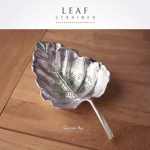 Leaf Strainer Silver - Golden Age Bartending Bar Tools