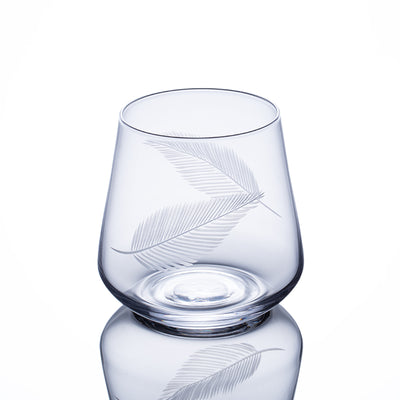 Whisky Glass - Feather