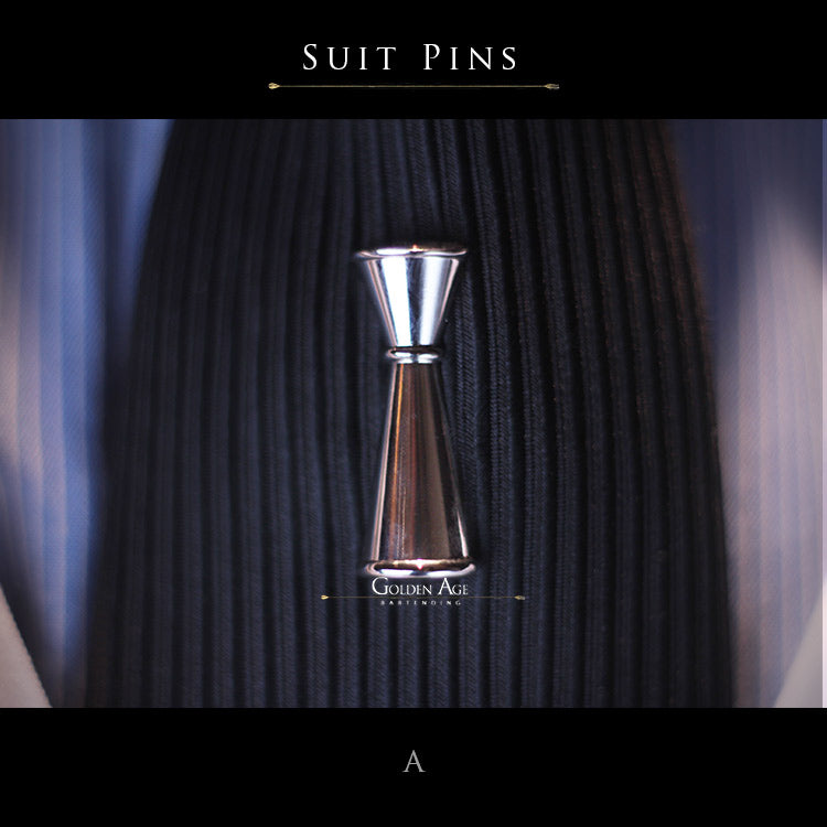 PINS - Suit Japan - Golden Age Bartending Bar Tools