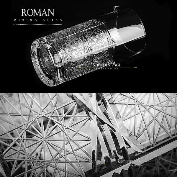"Mixing Glass ""Roman"" - Premium"