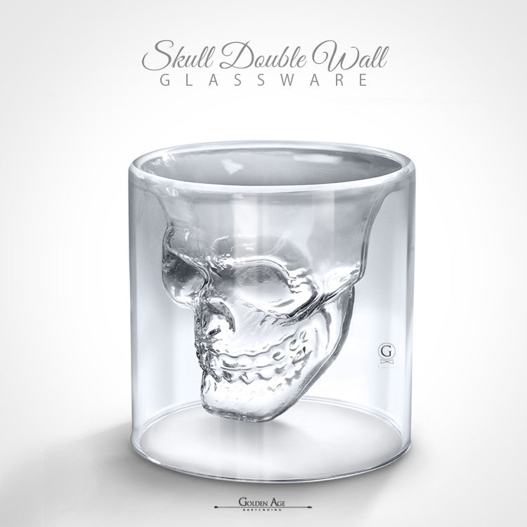 Skull Double Wall Glassware