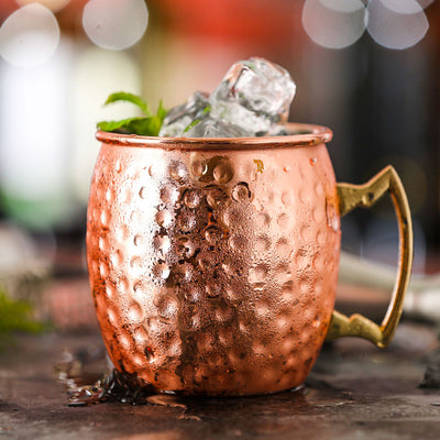 Premium Moscow Mule Hammered - 500ml - Golden Age Bartending Bar Tools