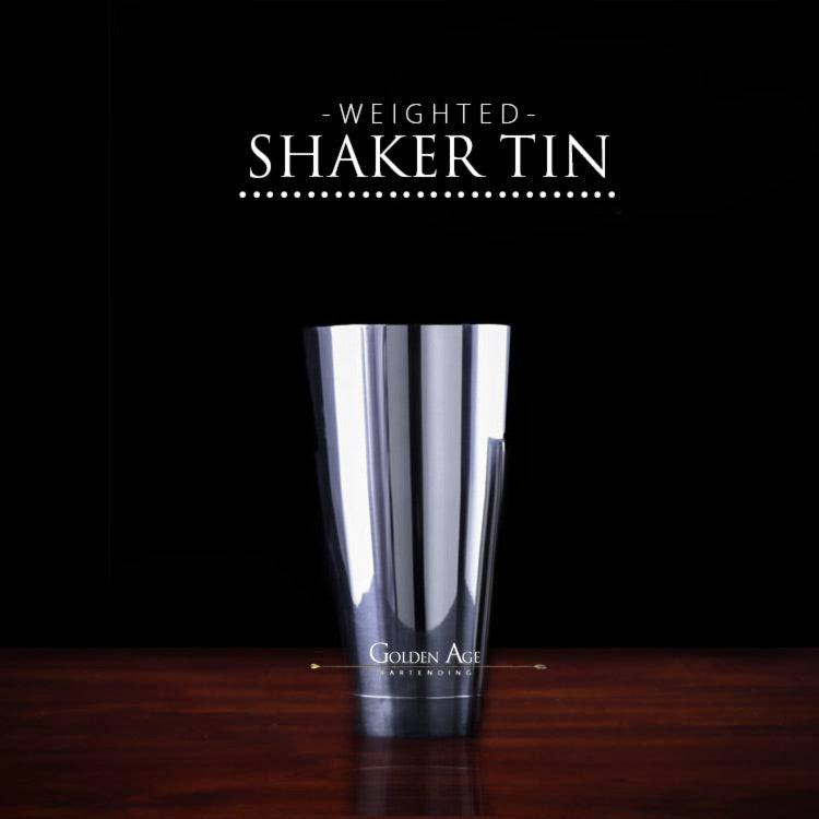 Weighted Shaking Tin - Golden Age Bartending