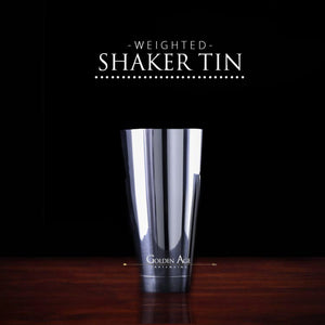 Weighted Shaking Tin - Golden Age Bartending Bar Tools