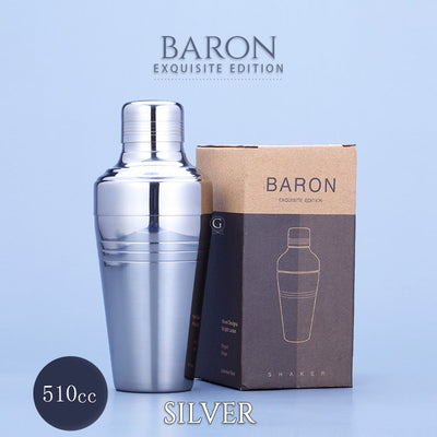 BARON Shakers - Exquisite Edition - Golden Age Bartending Bar Tools