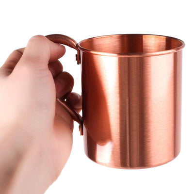 Pure Copper Moscow Mule Mug - Golden Age Bartending Bar Tools