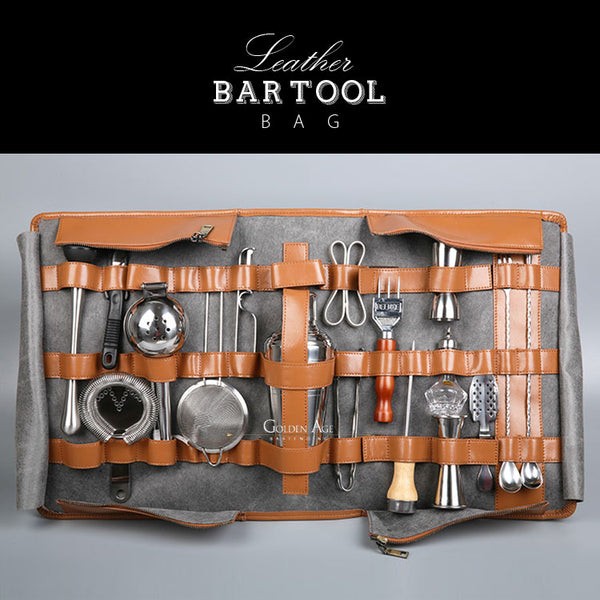 Leather Bar Tool Bags