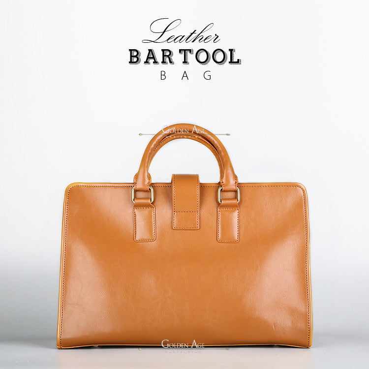 Leather Bar Tool Bags - Golden Age Bartending Bar Tools