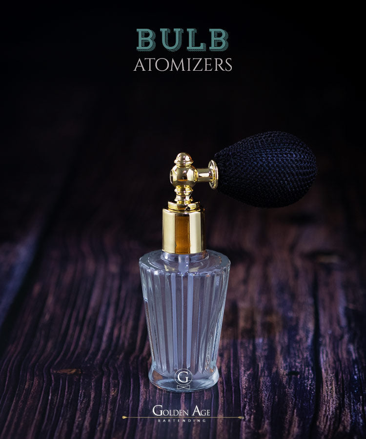Bulb Atomizers - Golden Age Bartending Bar Tools