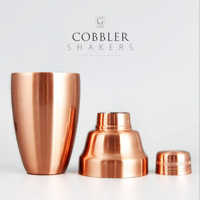 Cobbler Shakers - Golden Age Bartending Bar Tools