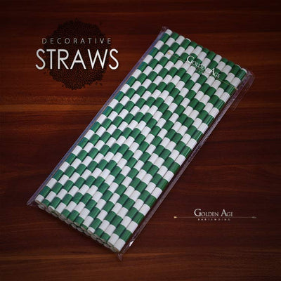ON SALE! Deco straws x 25 - Different designs - Golden Age Bartending