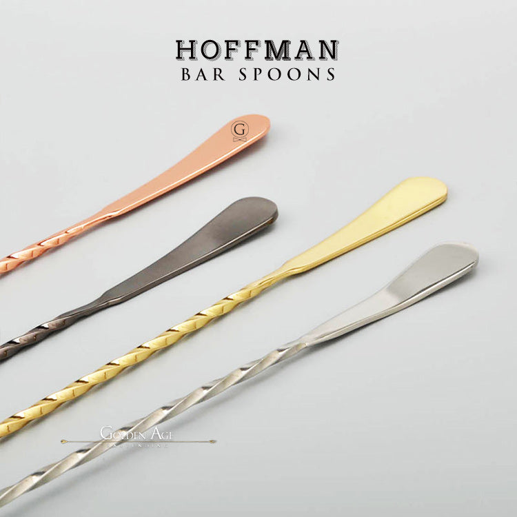 Bar Spoons Hoffman - 35 CM - Golden Age Bartending Bar Tools