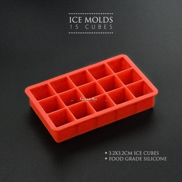 Ice Molds - 15 cubes - Golden Age Bartending Bar Tools