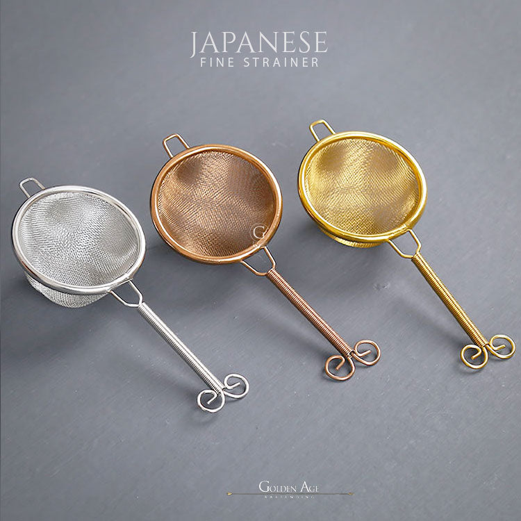 Japanese Fine Strainer - Golden Age Bartending Bar Tools