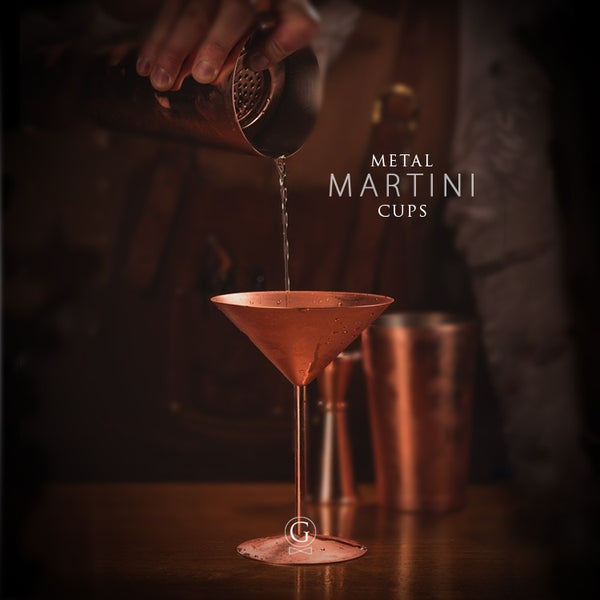 Metal Martini Cups