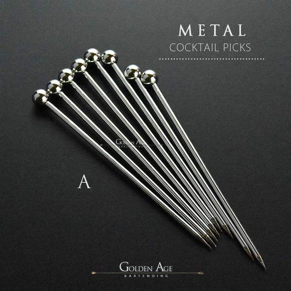 Cocktail Picks - METAL