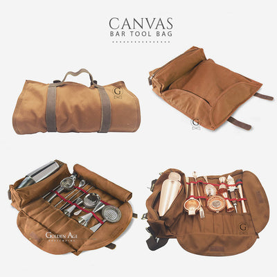 Bar Tool Bag - Canvas - Golden Age Bartending Bar Tools