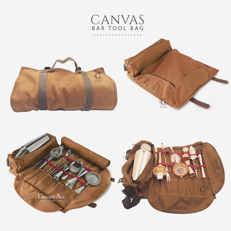 Bar Tool Bag - Canvas - Golden Age Bartending