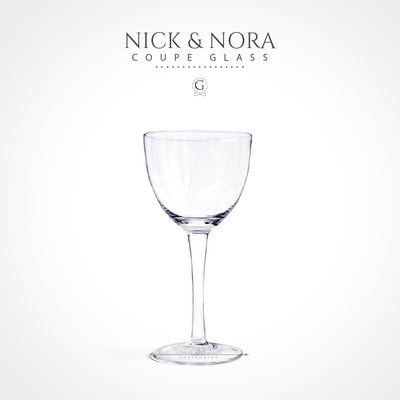 Nick & Nora - Coupe Glass - Golden Age Bartending Bar Tools