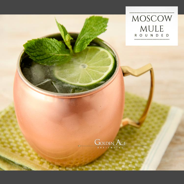 Premium Moscow Mule Rounded - 500ml - Golden Age Bartending Bar Tools