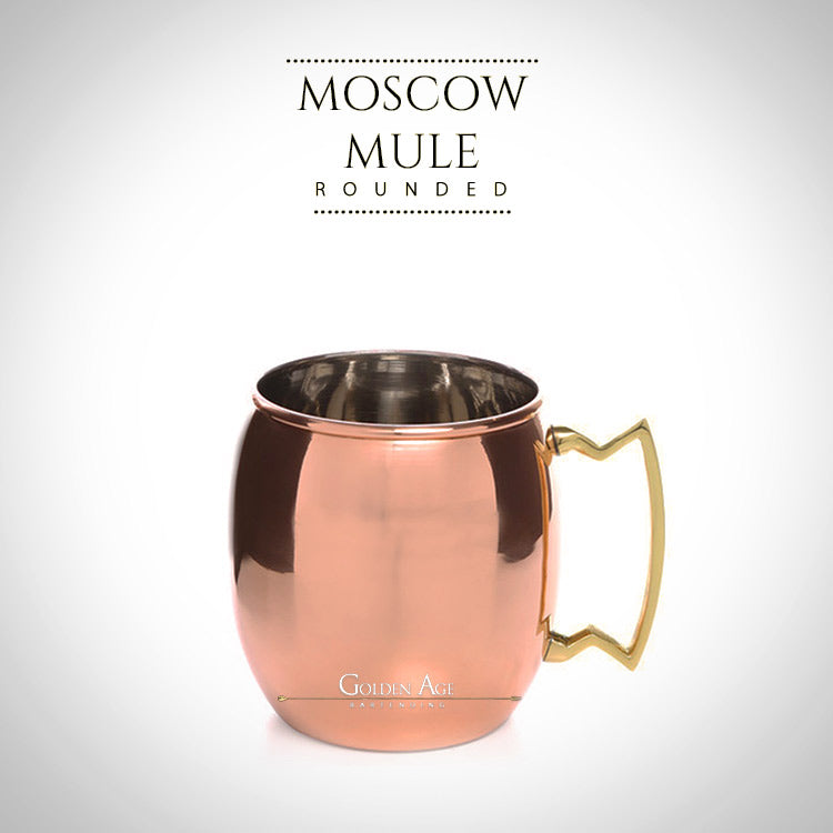CLEARANCE! Moscow Mule Rounded - 360ml - Golden Age Bartending Bar Tools