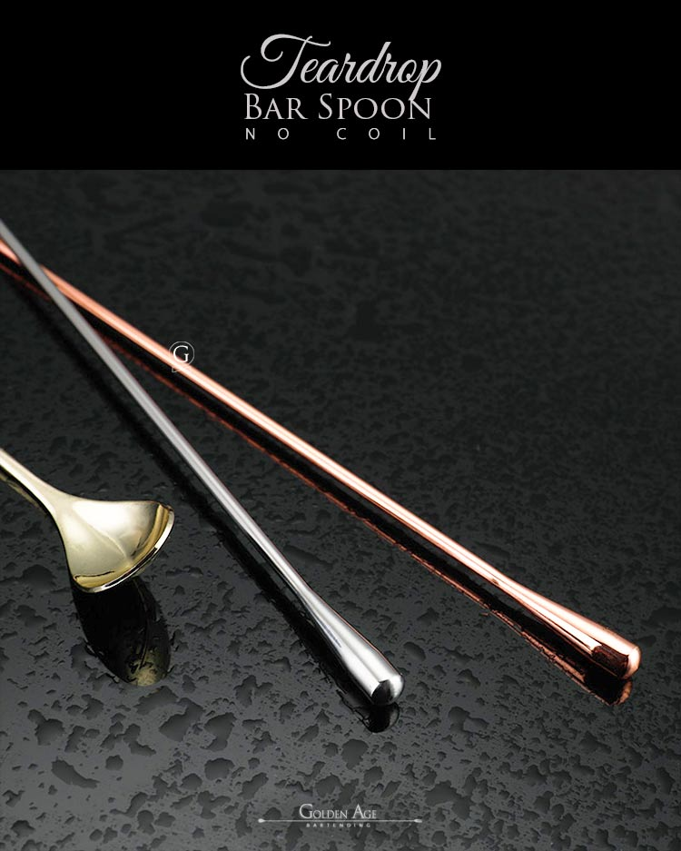 Bar Spoons Teardrop - NO COIL - 40cm