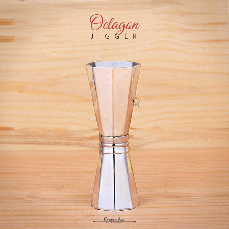 Jigger - OCTAGON - 30/45ml