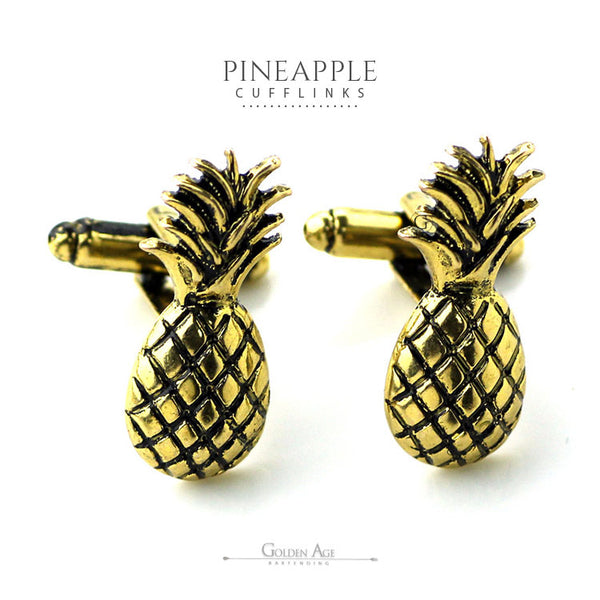 Pineapple Cuff links