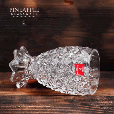 Pineapple Glassware - Golden Age Bartending Bar Tools