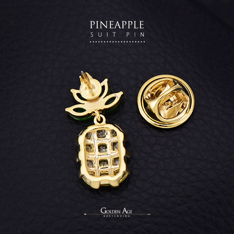 Pineapple Suit Pins