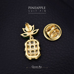 Pineapple Suit Pins - Golden Age Bartending Bar Tools