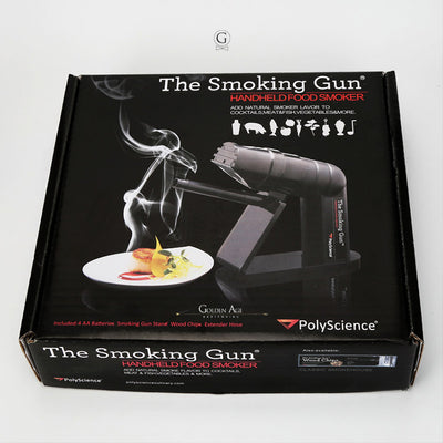 Polyscience Smoking gun - Golden Age Bartending