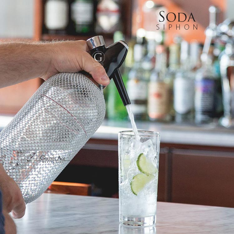 Soda Siphon - 1000ml - Glass