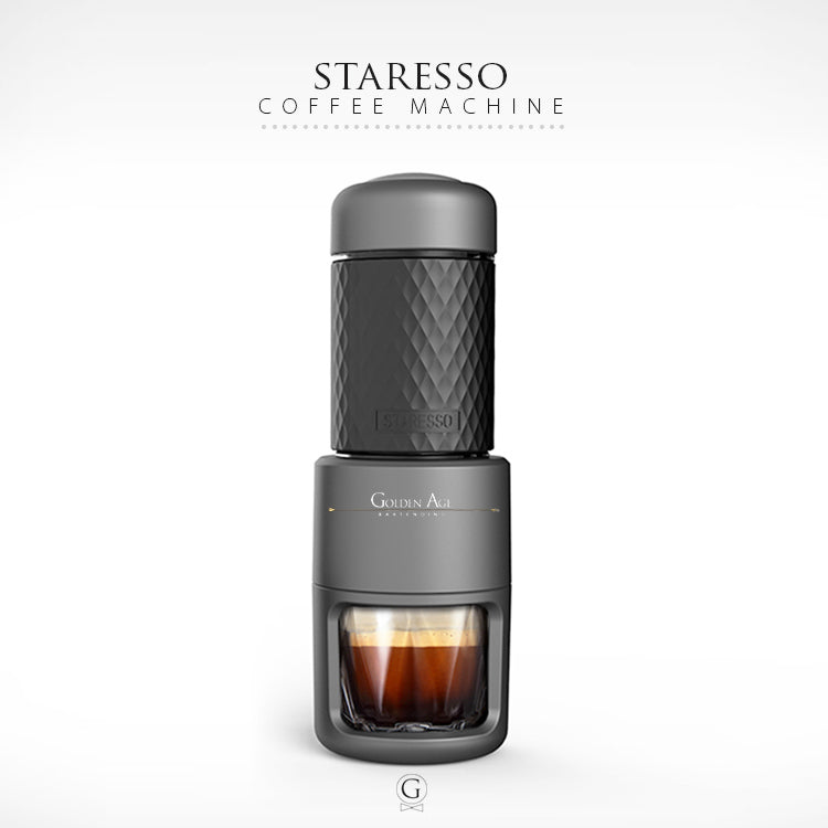Portable Espresso Machine - STARESSO - Golden Age Bartending Bar Tools