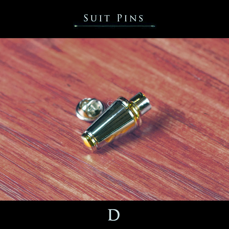 Suit Pins - Japan - Golden Age Bartending Bar Tools