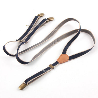 Single Suspenders Blue - Golden Age Bartending