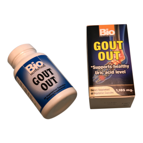 Gout Out - 60 capsules -stops painful gout-Uncommon Remedy