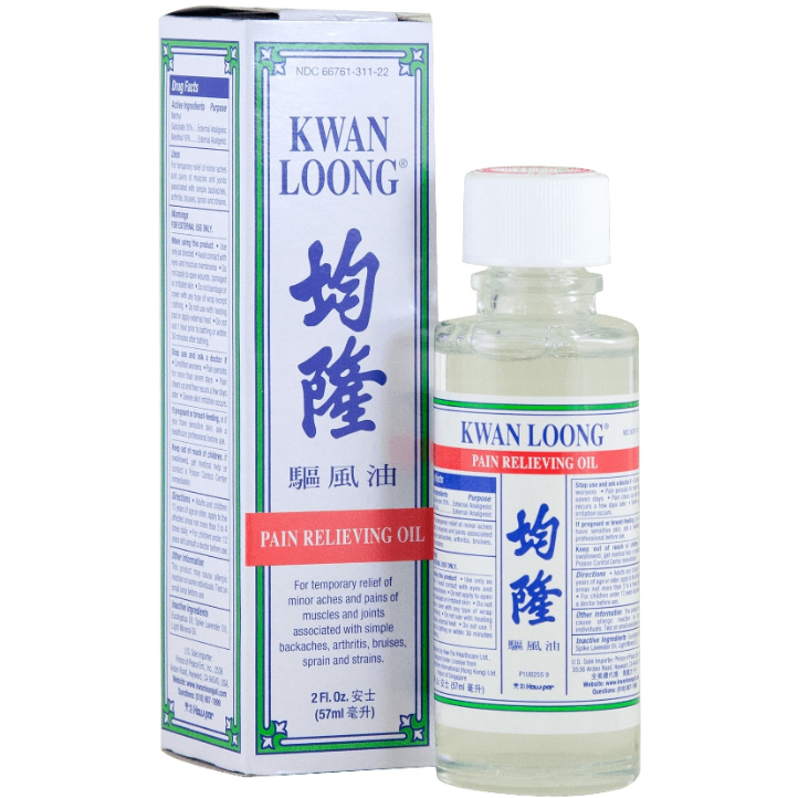 Kwan Loong Pain Relieving Oil 2oz-Uncommon Remedy