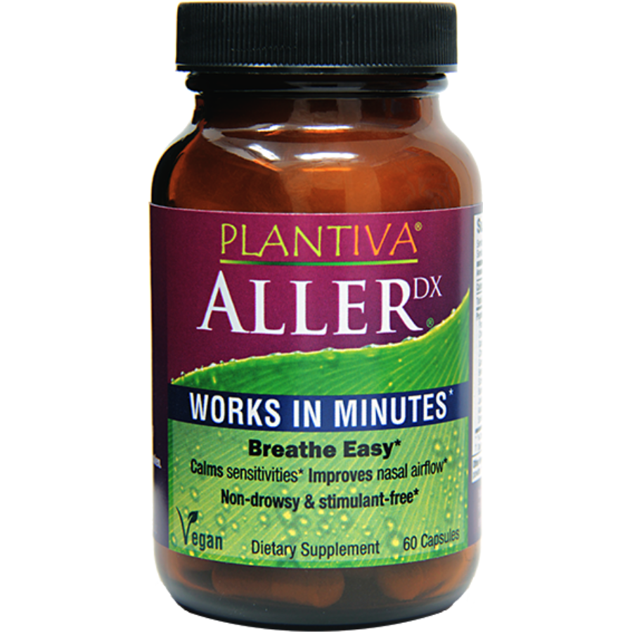 Herbal Allergy Formula works fast AllerDx- 60 capsules-remedy-Uncommon Remedy