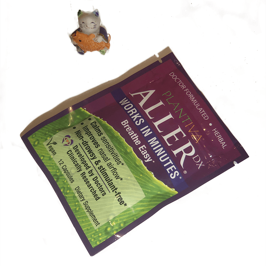 AllerDx Breathe Easy Travel Pack herbal remedy- 12 capsules-remedy-Uncommon Remedy