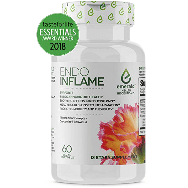 Relieve Pain & Inflammation Endo Inflame - 60 softgels-supplement-Uncommon Remedy
