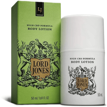 "CBD Lotion ""Runway Stiletto Relief"" - Lord Jones Metered Dose 100mg"