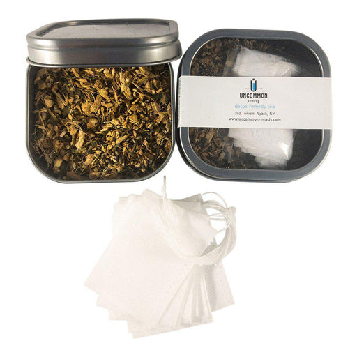Uncommon Remedy Detox Organic Tea + 12 filter tea bags-remedy-Uncommon Remedy