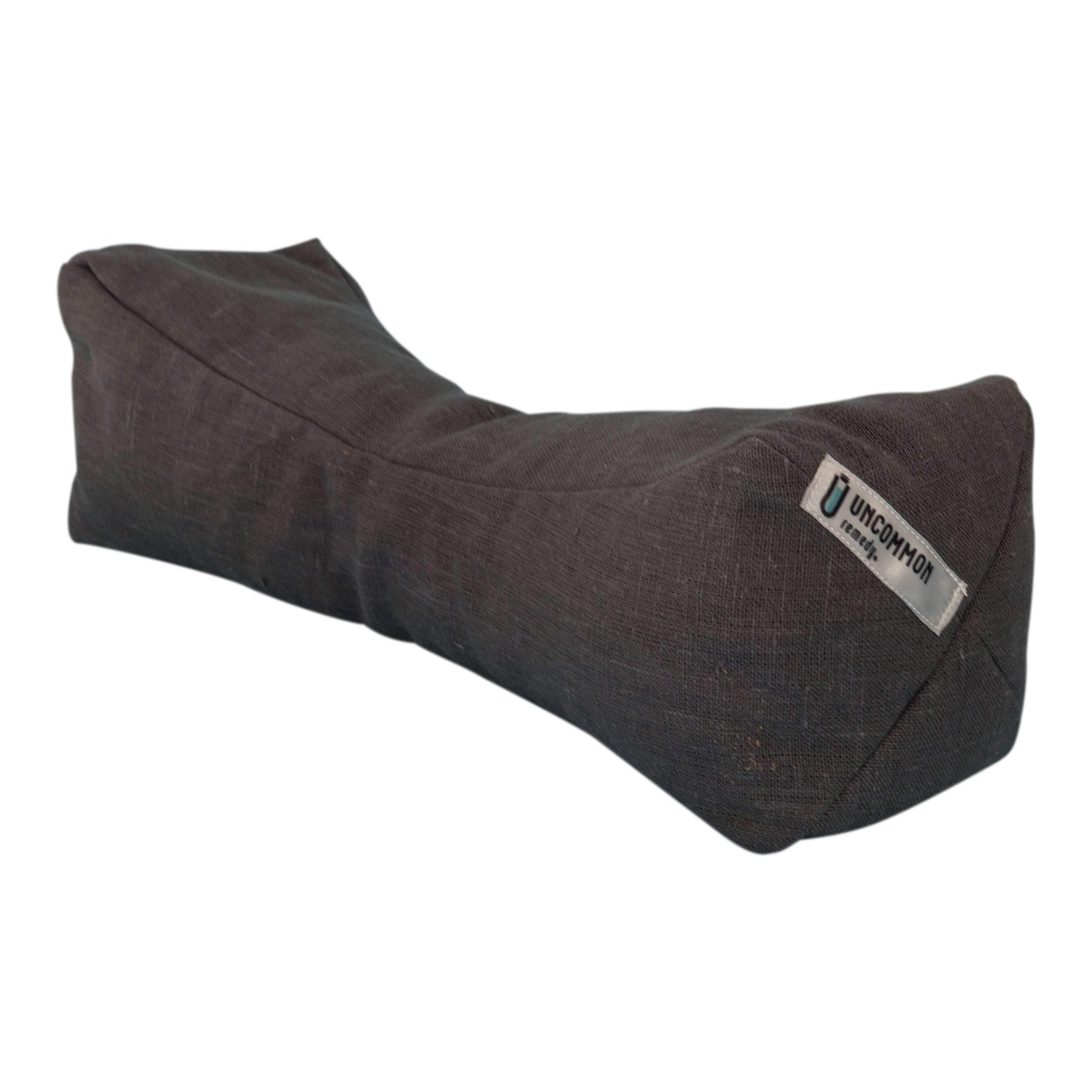 Uncommon Remedy Hand Crafted Buckwheat | Lavender Linen Neck Pillow-remedy-Uncommon Remedy